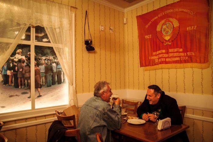 Иммигранты из СССР на Брайтон-бич