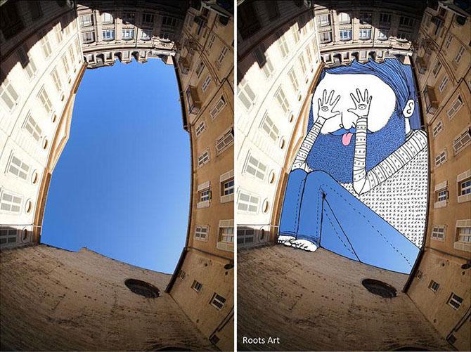 Художник, который использует небо как холст