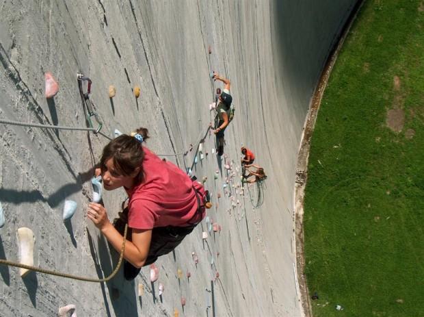 Самый высокий искусственный скалодром в мире