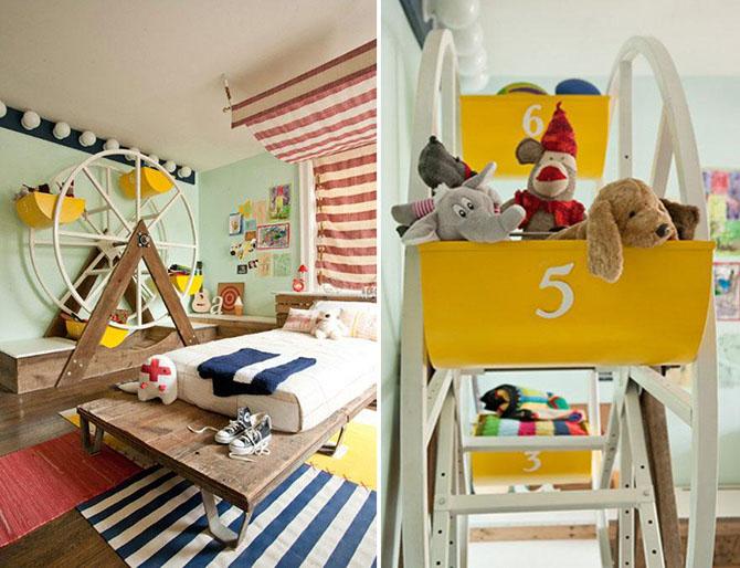 Крутой дизайн детских комнат