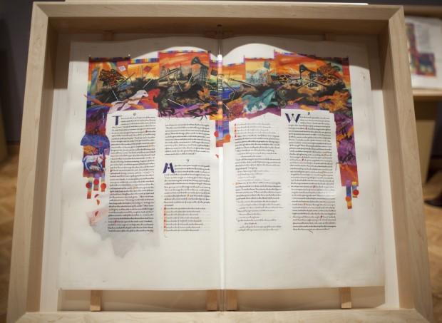 Всемирно известный каллиграф 13 лет вручную переписывал Библию