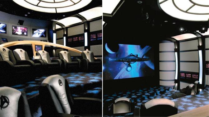 Фантастические дизайны домашних кинотеатров