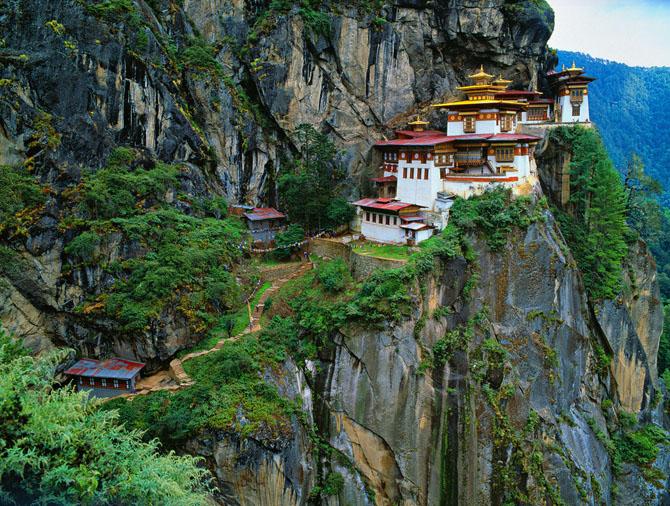 20 реальных мест, которые выглядят словно вышли из сказок