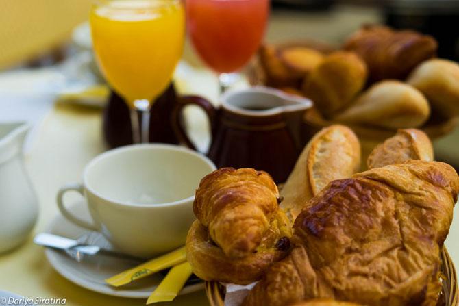 Завтраки в путешествиях
