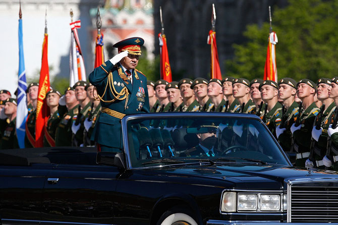 Как прошел парад Победы на Красной площади