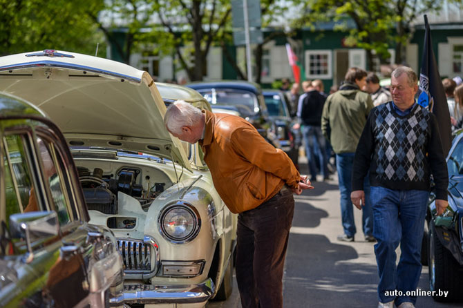 Как прошел ретропарад любителей автомобильной классики в Минске