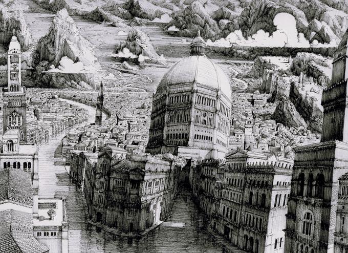 Рисунки Ben Sack