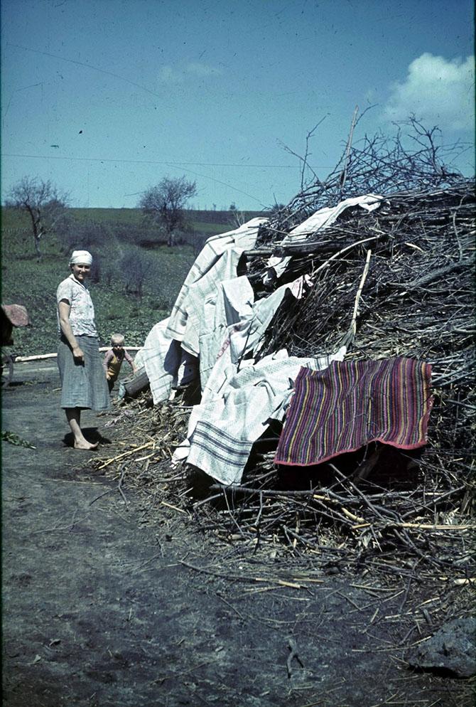 Белгородской области 1943 года в объективе рядового вермахта