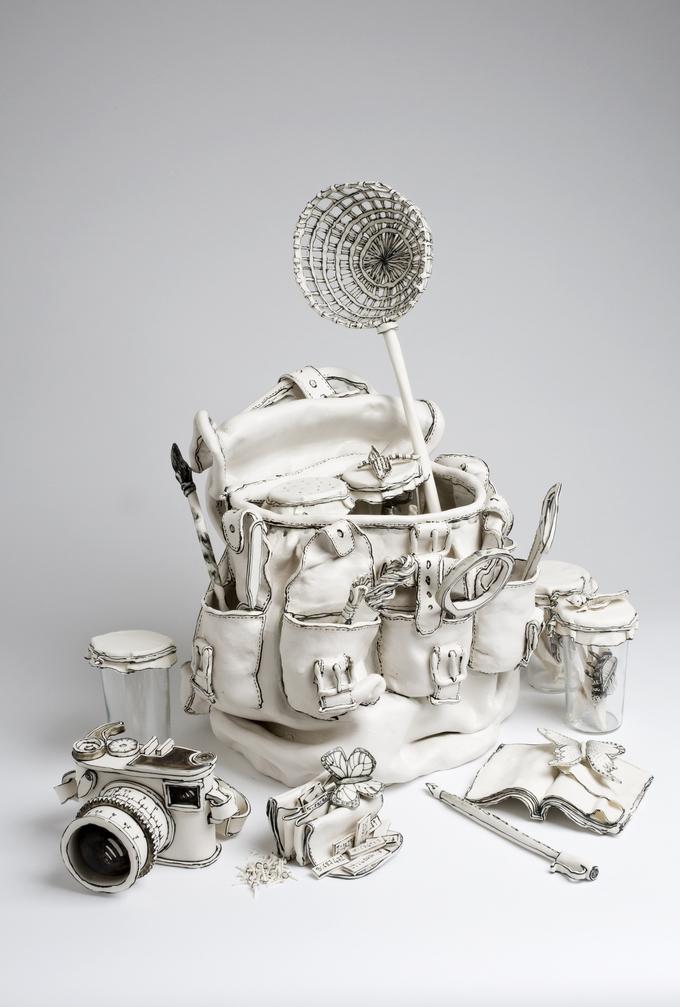 Керамические скульптуры Katharine Morling