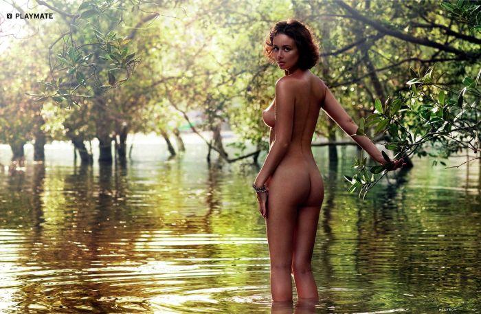 Playboy за май 2014: Ирина Капуста и Анна Кожевникова (15 фото)