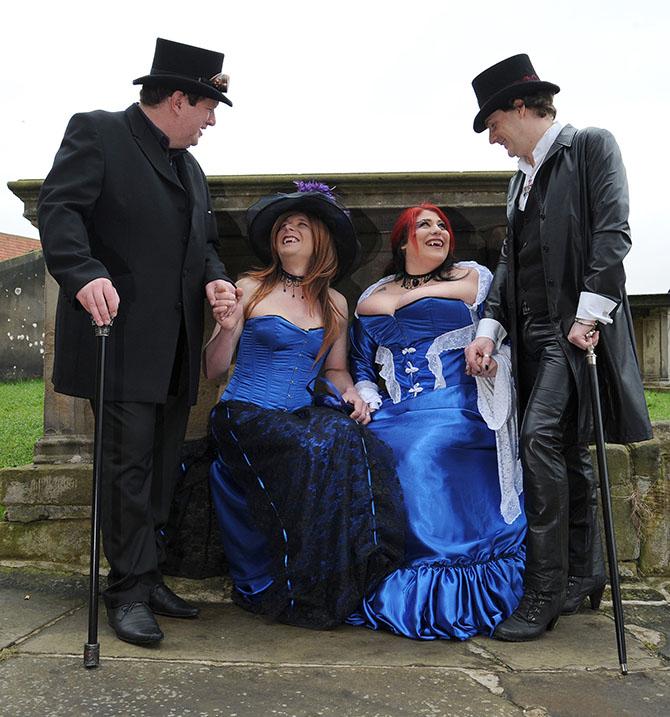 Фестиваль готики «Whitby Gothic Weekend» в Великобритании