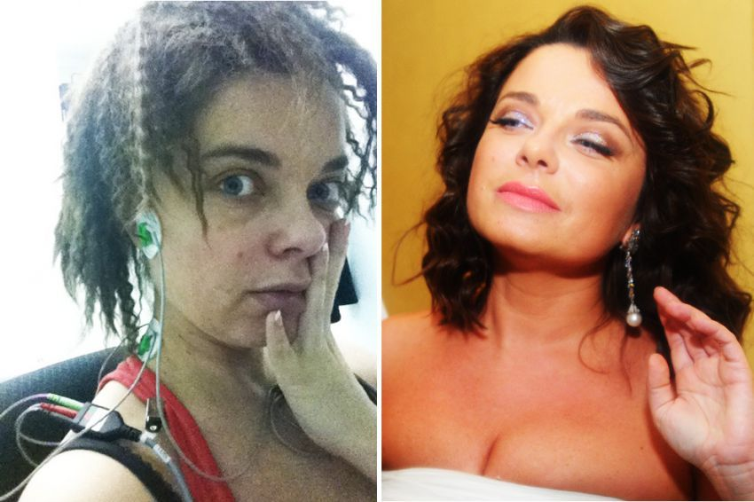 Артисты без макияжа русские