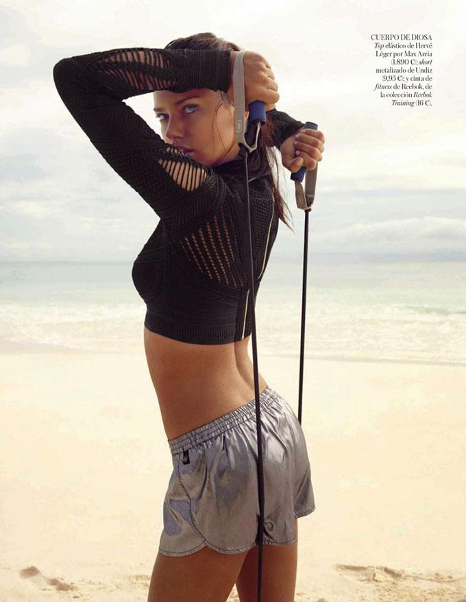 Адриана Лима в Vogue Spain