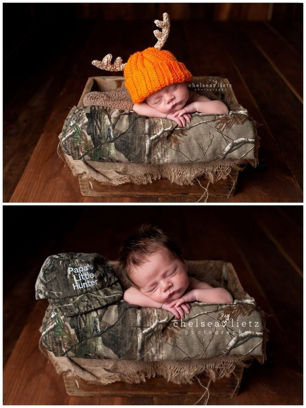 Малыши, которые проспали свою первую фотосессию