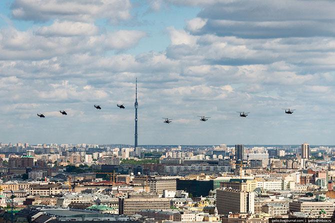 Как готовятся к параду Победы в Москве