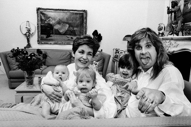 10 самых ярких моментов из семейной жизни Оззи Осборна