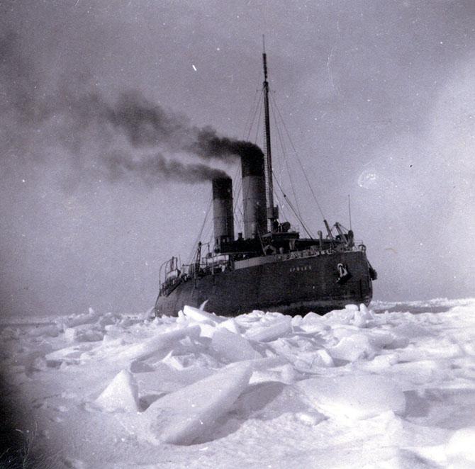 Первый в мире ледокол арктического класса
