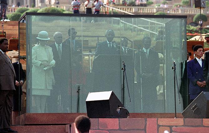 Жизнь Нельсона Манделы в фотографиях