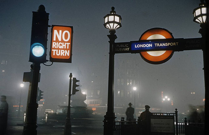 10 фотографий Великого смога в Лондоне