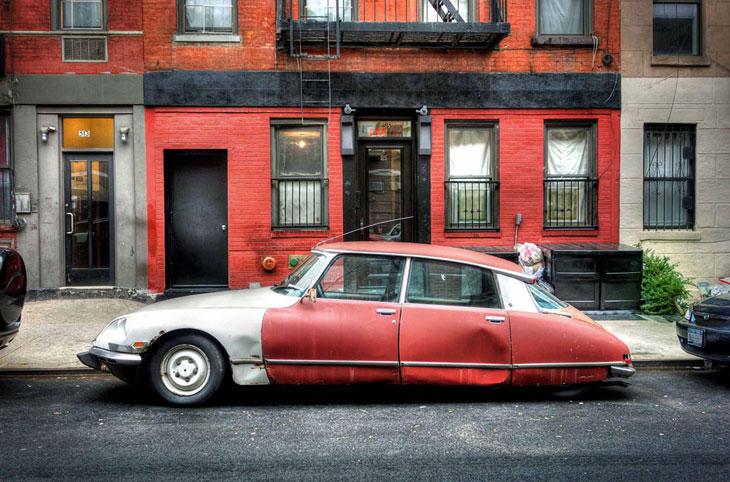 Ретро-автомобили Нью-Йорка