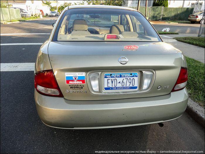 Русские автомобильные номера в Нью-Йорке (37 фото)