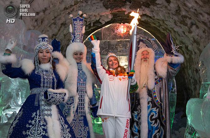 Эстафета олимпийского огня «Сочи-2014»