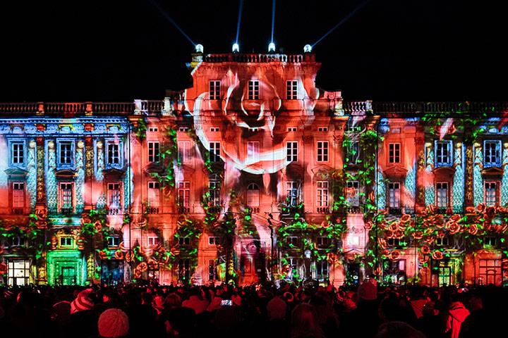 Фестиваль света, Лион, Франция