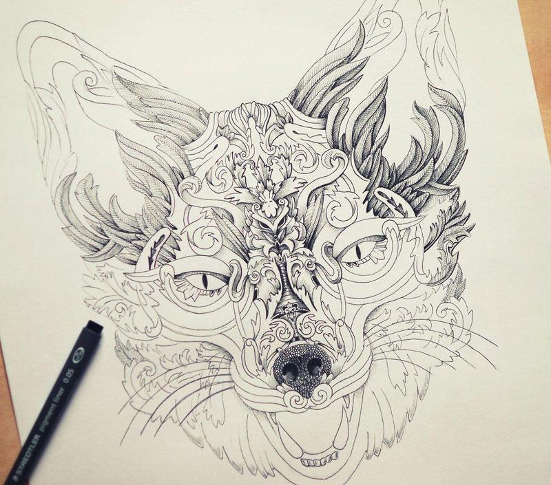 Как нарисовать красивый но не трудный рисунок
