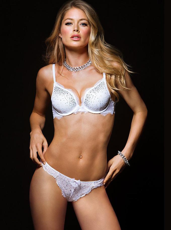 Даутцен Крес в лукбуке Victoria's Secret