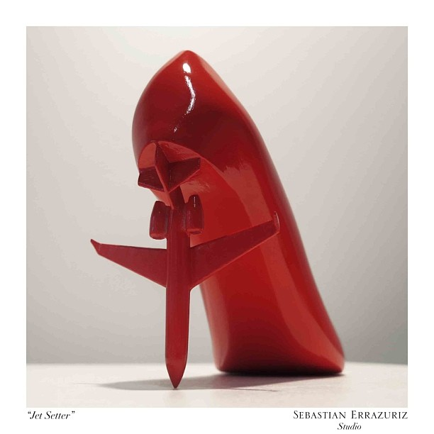 Коллекция обуви от художника Sebastian Errazuriz