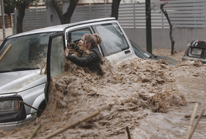 Фотографии, которые потрясли мир в 2013 году