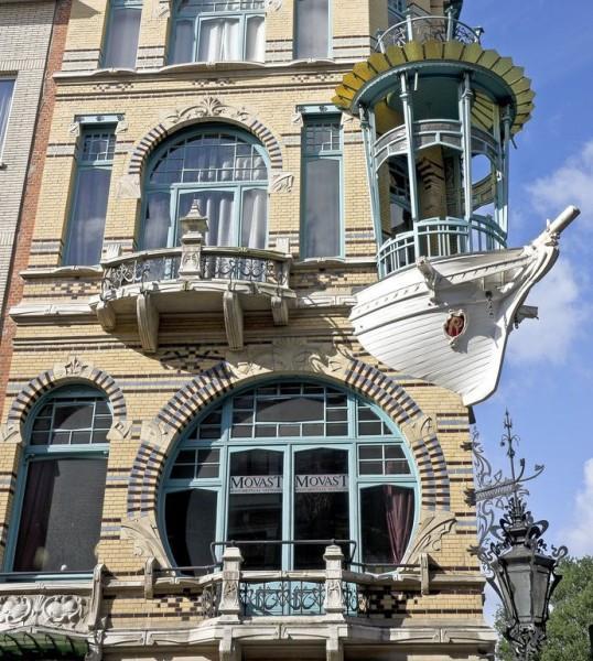 Дома из списанных кораблей
