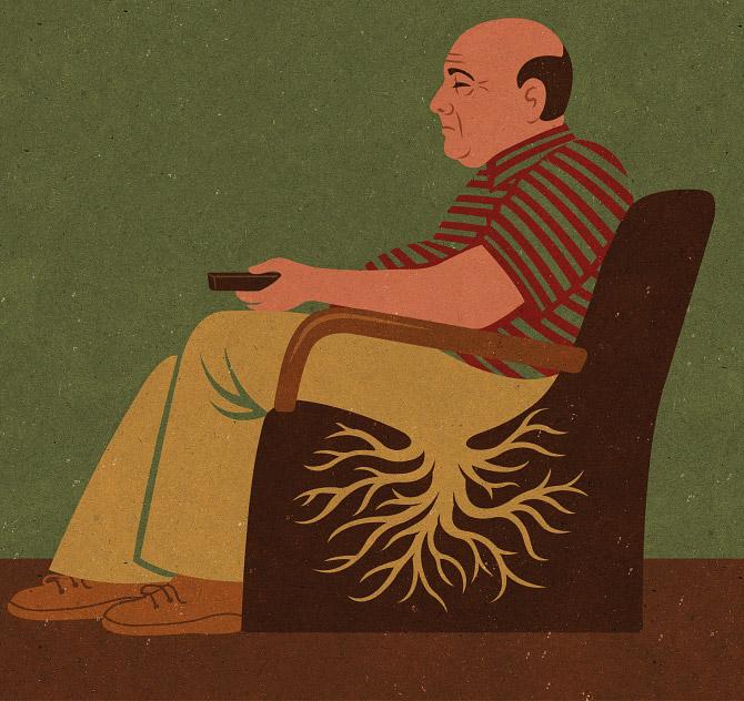 Откровенные иллюстрации от Джона Холкрофта