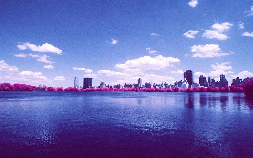 Пейзажи с помощью инфракрасной пленки Kodak