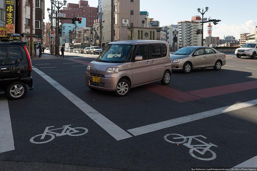 Владение личным автомобилем в Японии
