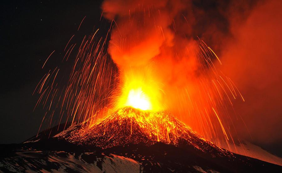 Вулканическая активность в 2013