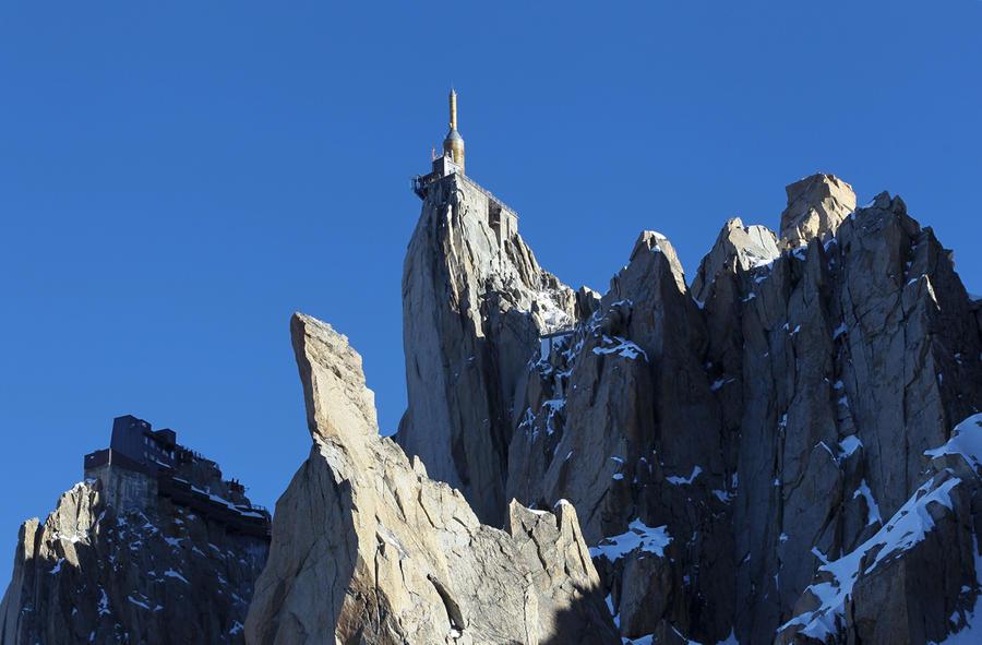 Шаг в пустоту над французскими Альпами