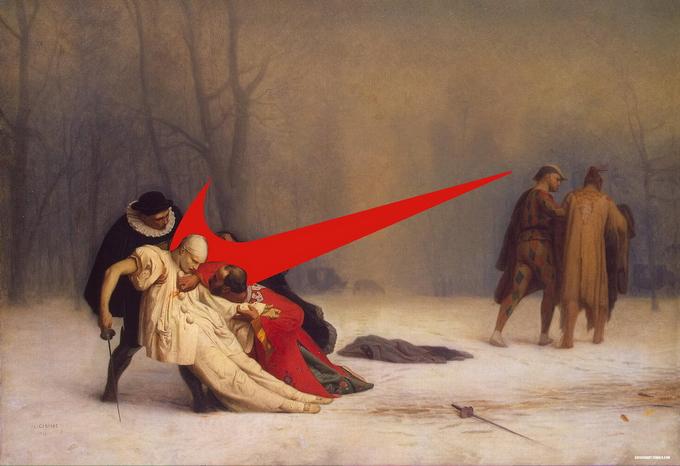 Логотип Nike + живопись