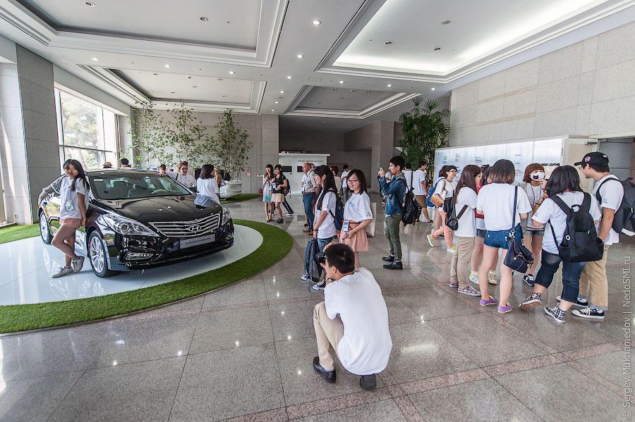 Корейский завод Hyundai