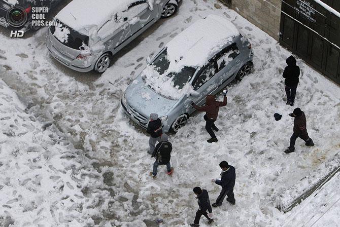 Самая холодная зима за последние 100 лет