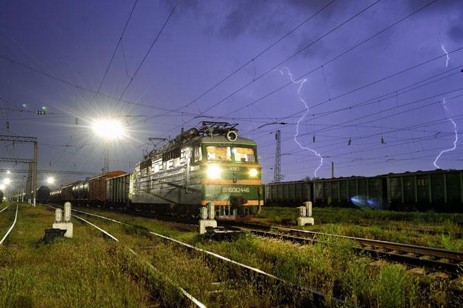 Лучшие фотографии железнодорожной тематики ушедшего года