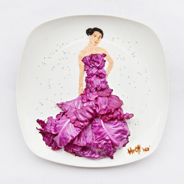 Креатив на тарелке