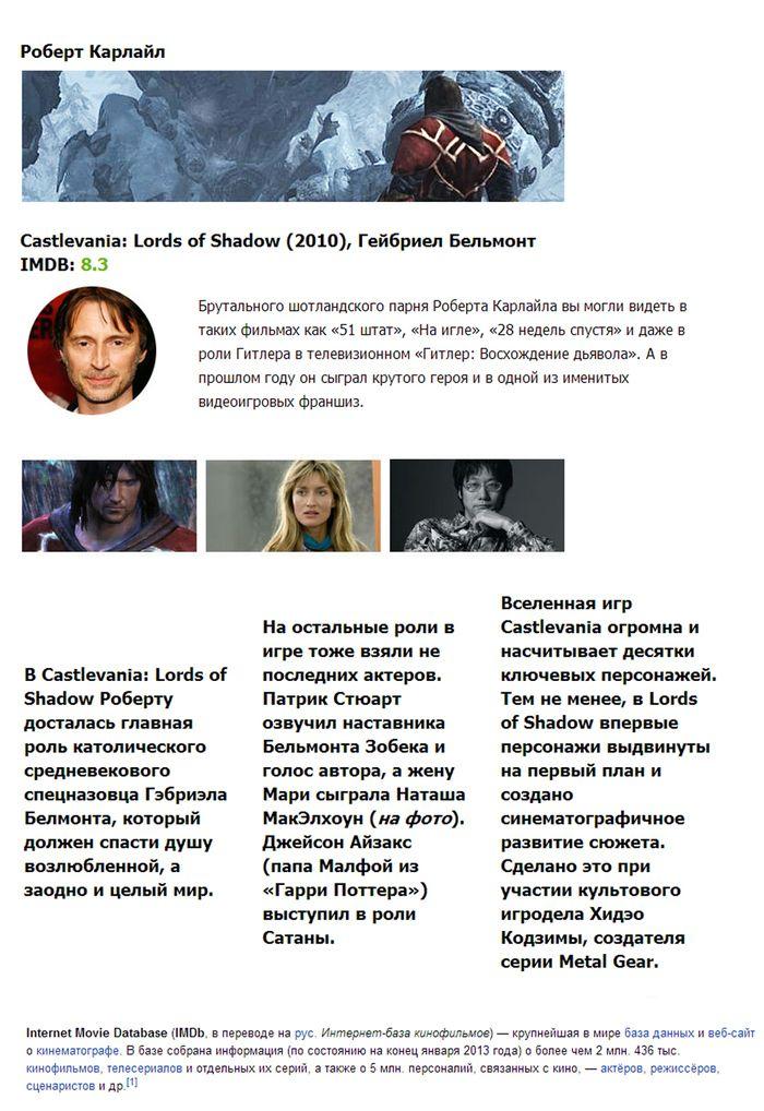 Кто озвучивает известные игры (10 фото)