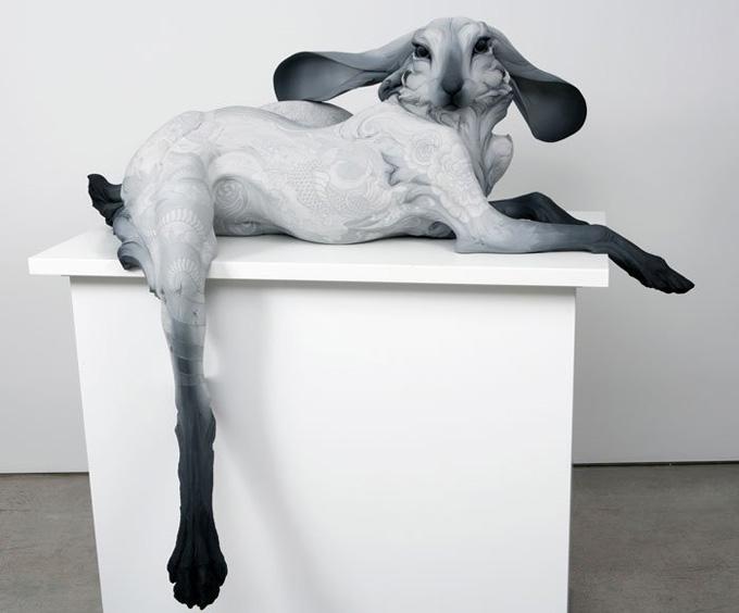 Скульптуры Beth Cavener Stichter