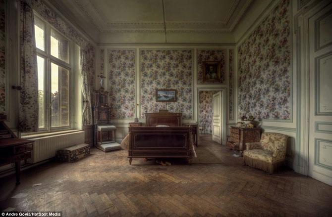 Заброшенная роскошь в бельгийском особняке