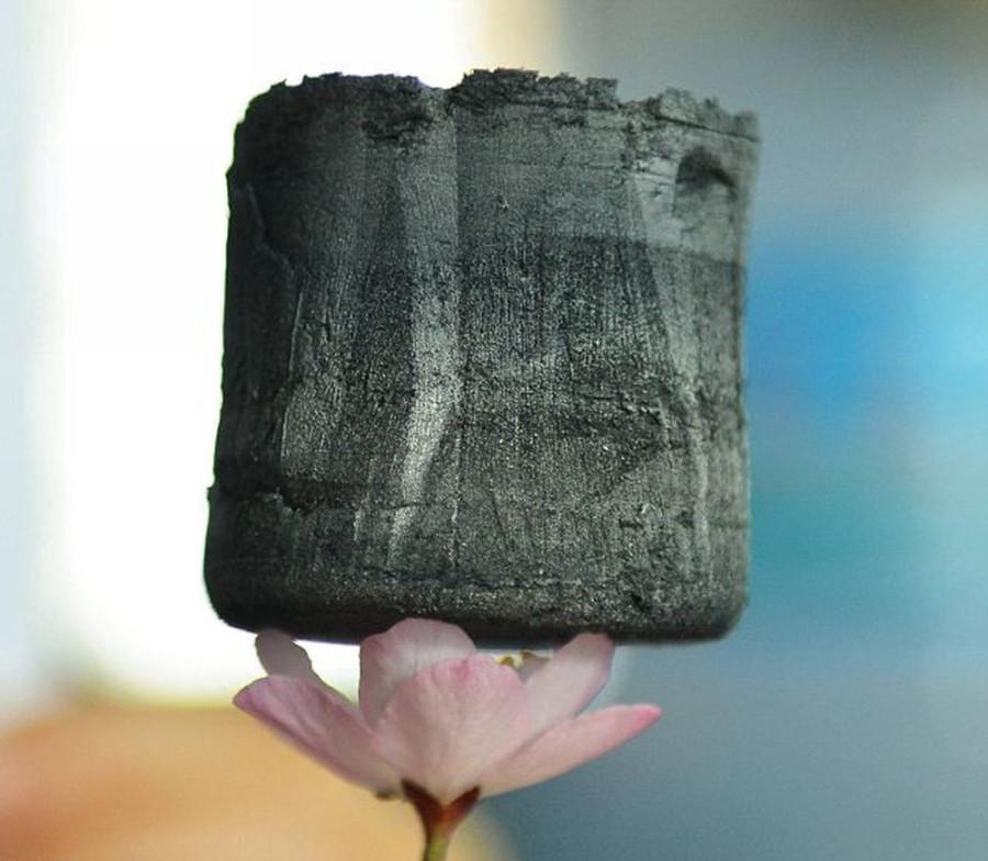 Углеродный аэрогель — новый легкий материал