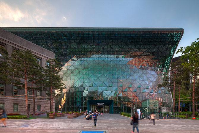 Новое здание ратуши в Сеуле от iArc Architects