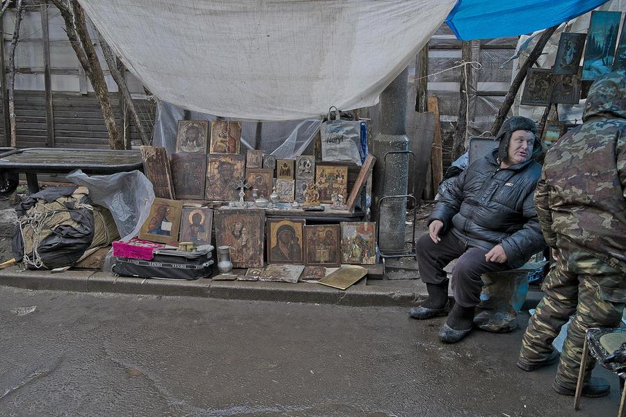 Блошиный рынок в Москве