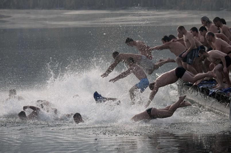 Крещение празднуется по всей Европе