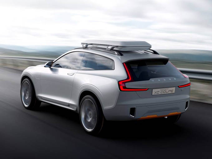 Volvo представил концепт кроссовера XC Coupe